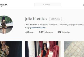 Profile na instagramie, które mnie inspirują