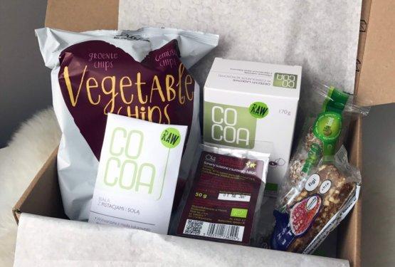 GOODIES ORGANIC BOX – box z pysznymi snackami