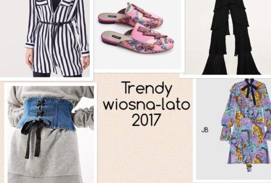 Trendy wiosna-lato 2017