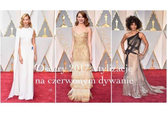 Oscary 2017: stylizacje na czerwonym dywanie