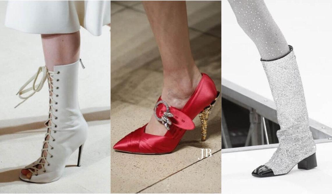 Modne buty z wybiegów
