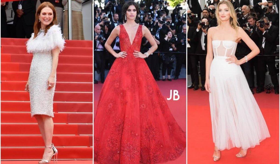 Festival de Cannes. Sukienki gwiazd.