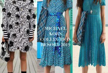 Michael Kors zaprezentował kolekcję Michael Kors Collection Resort 2019