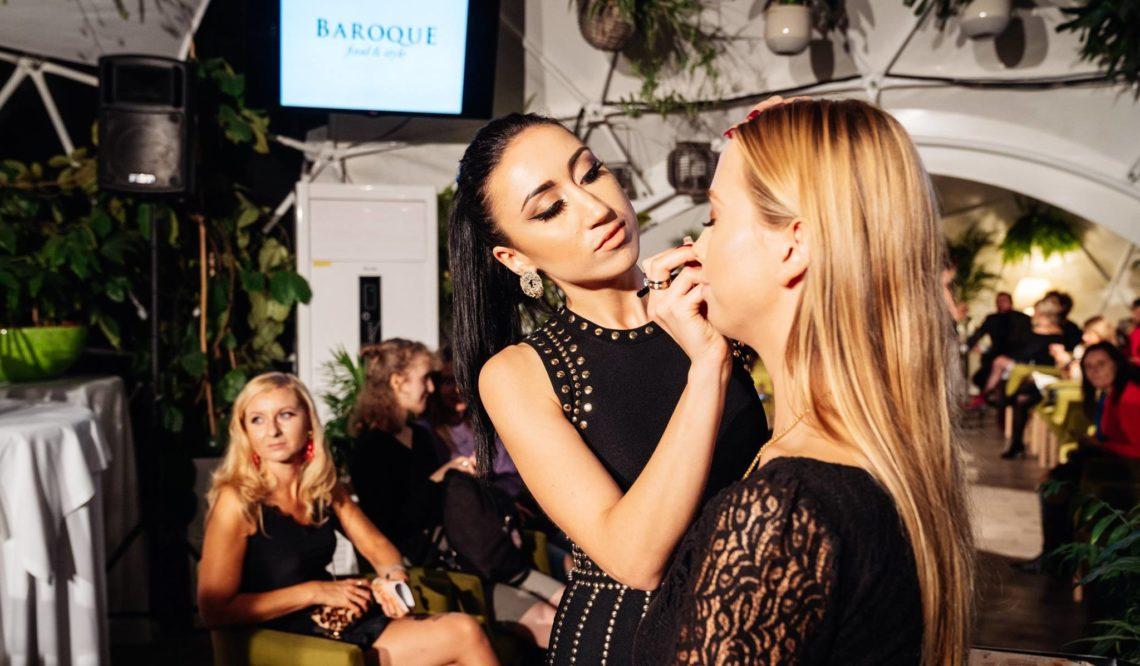 Mój pierwszy Make-up show- 10 urodziny klubu Baroque w Krakowie