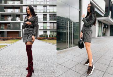 Dwie stylizacje – jedna sukienka NA-KD