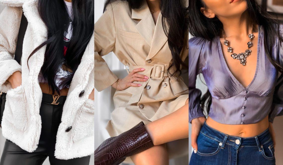 Przegląd zamówienia z NA-KD Lounge.Outfity. Kod rabatowy na zakupy